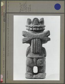 Statue représentant Tlaloc