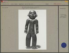Statuette anthropomorphe en chlorite