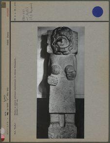 Statue pierre Cihuacoatl