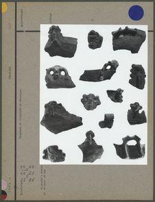 Fragments de récipients en céramique