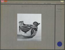 Vase en céramique en forme d'oiseau