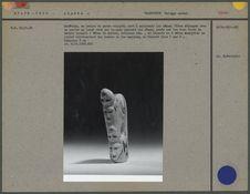 Arrêtoir en ivoire de morse sculpté