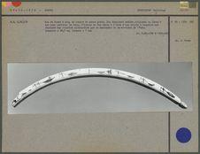 Archet pour actionner un foret, en ivoire