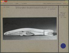 Barrette de sac en ivoire