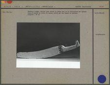 Couteau à neige utilisé pour couper