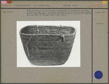 Panier rectangulaire en fibres de cèdre