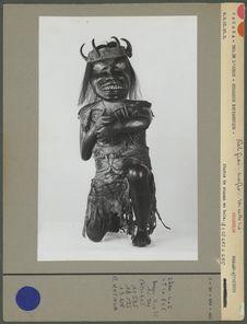 Statue de chaman tsimshian