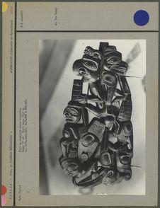 Pipe en argilite kwakiutl ou haida