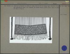 Tablier en tissu de laine
