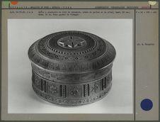Boîte à couvercle en bois de sycomore