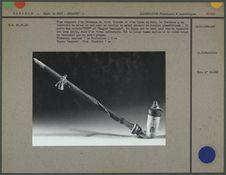 Pipe composée d'un fourneau en terre blanche