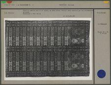 Tissu de lamé de soie or et argent, du XIXe siècle