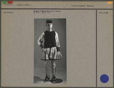 Costume de Saracatsan, berger nomade