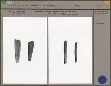 Fragments de pointes de sagaies en bois de renne