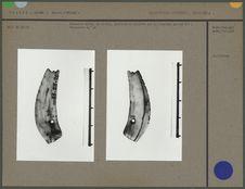 Incisive sciée en ivoire perforée et incisée