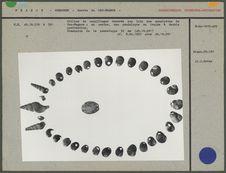 Collier de coquillages trouvés à Cro-Magnon