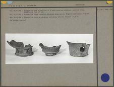Fragment de vase, de coupe et de jade