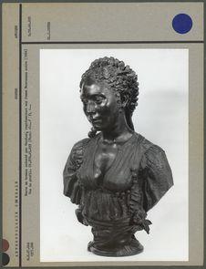 Buste en bronze exécuté par Cordier, profil