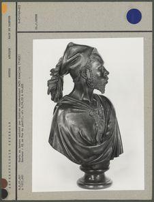 Buste en bronze exécuté par Cordier