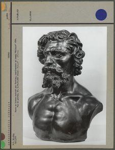 Buste en bronze exécuté par Cordier, Maltais