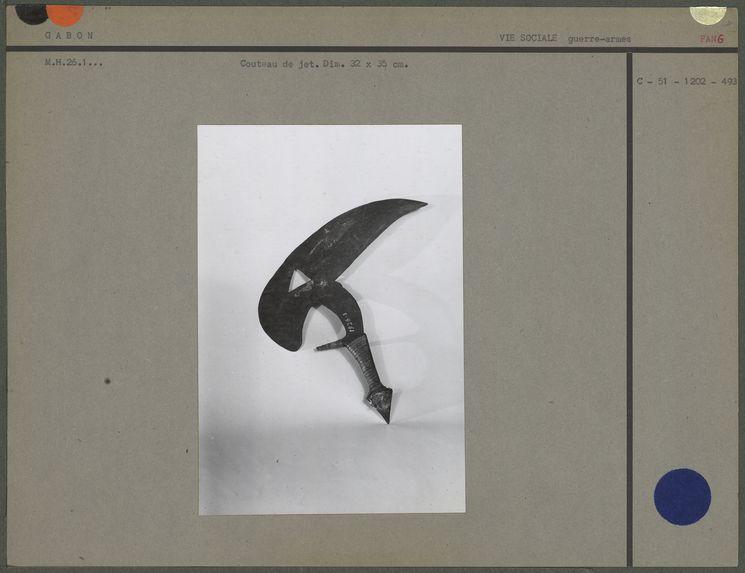 Couteau de jet Fang