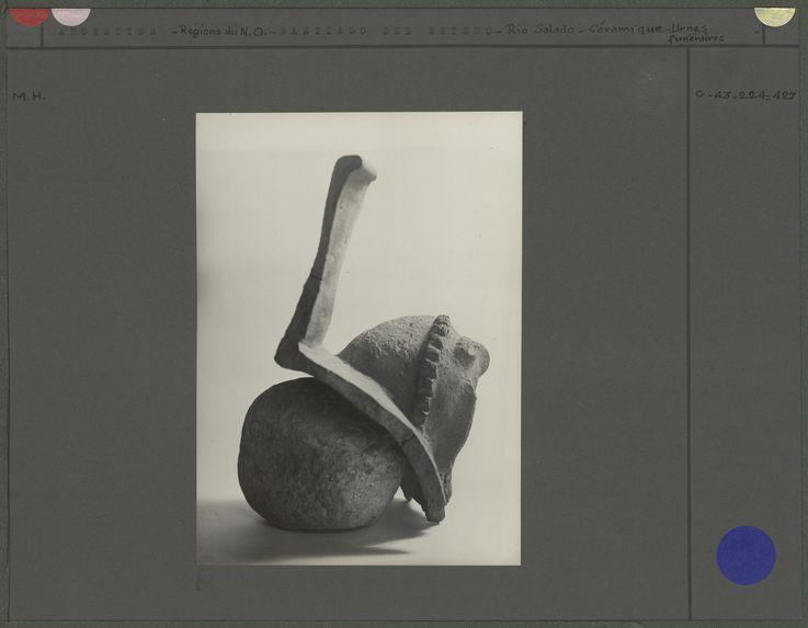 Urne funéraire de Cayo Lopez, fragment