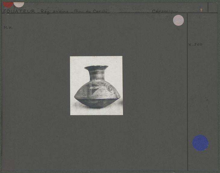 Vase lenticulaire