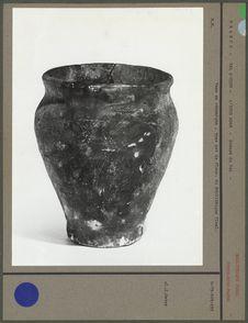 Vase en céramique, type pot de fleur, du Néolithique final