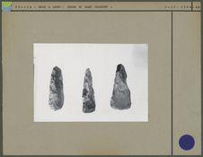 Tranchets et haches néolithiques