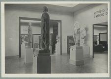 Salle de antiquités romaines d'Afrique du Nord