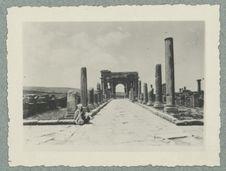 Algérie. Timgad