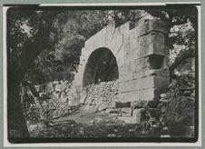 Tunisie : ruines d'un fort