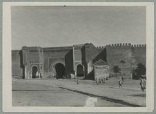 Maroc. Marrakech, porte Bab el Mansour