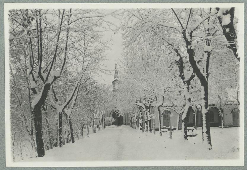 La neige en Kabylie