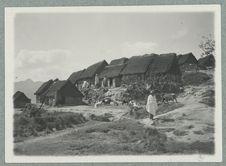 Province de Fianarantsoa. Vieux village Betsileo