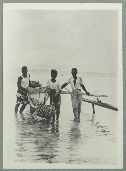 Retour de la plongée à Tuamotu