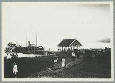 Martinique ; nouvel appontement de Saint-Pierre ; 1910