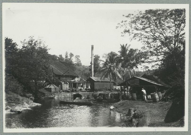 Martinique ; Rhumerie Pointe de Nègres