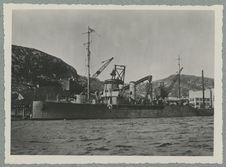 """Saint-Pierre et Miquelon ; aviso de la marine militaire """"Aldebaran"""" au..."""