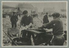 Saint-Pierre et Miquelon ; préparation de la morue
