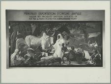 "Sans titre [reproduction d'un tableau : ""Principales exportations d'origine..."