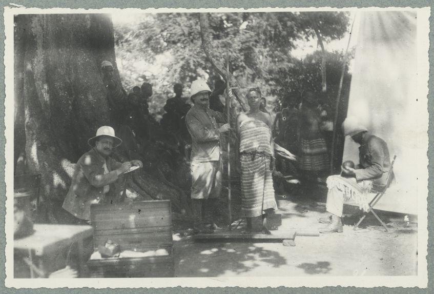 Baoulé. Groupe. Mensurations