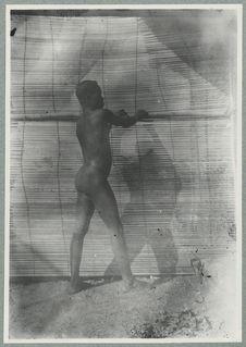 Boudoukou. Un homme (?) ou  une femme (?)  [portrait]