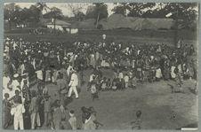 Dahomay. Porto-Novo. Danses indigènes