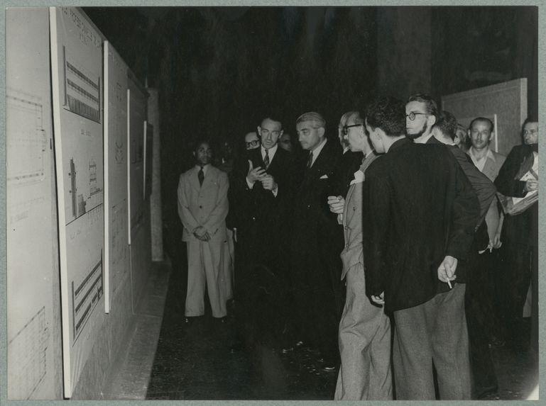 Inauguration de l'exposition sur la ville de Lomé au Musée de la France d'Outre-Mer