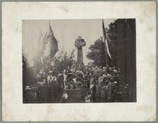 Monument élevé à Mahébourg (centenaire du Combat du Grand Port)