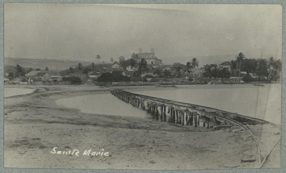Sainte-Marie [voie ferrée entre Sainte-Marie et l'îlet]