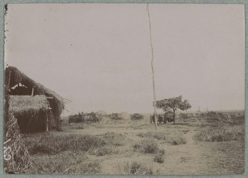 Emplacement choisi pour la construction du poste de Carnot