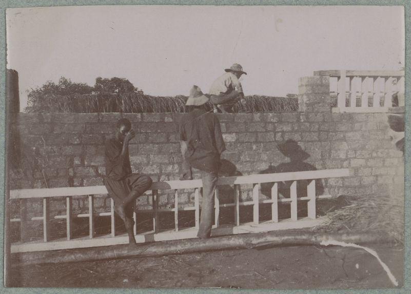 Construction à Carnot (maçonnerie)