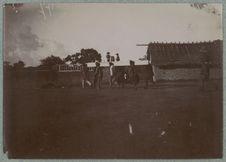 Travailleurs à Carnot (charpentiers)